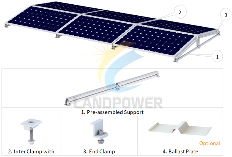 East and West Solar Mounting