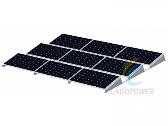 landscape flat roof solar mounting