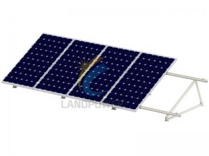 Portrait Flat Roof Solar Mounting