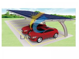 steel solar carport structure