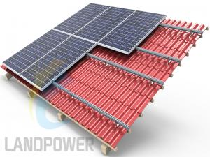 Tile Roof PV Mounting