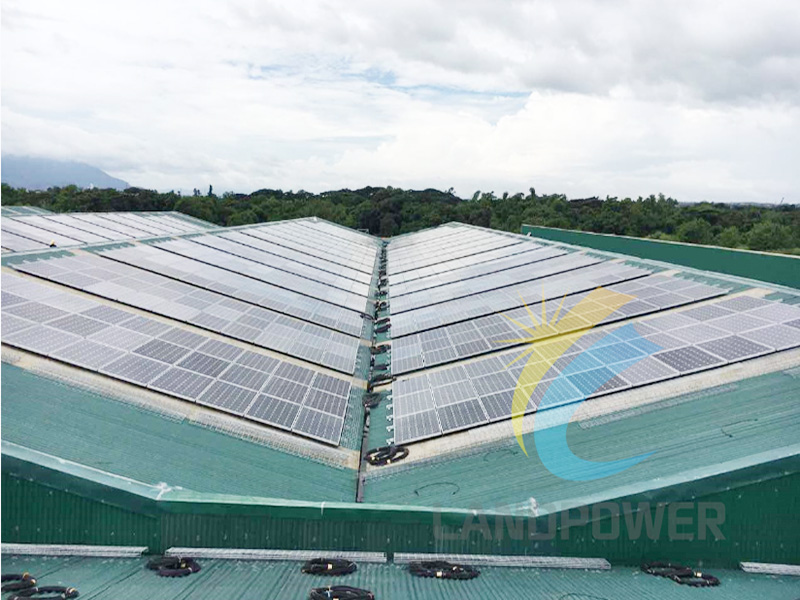 Landpower 1MW Corrugated Roof Philippines